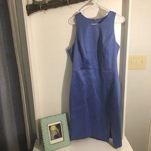 Banana Republic size 16 silk periwinkle dress